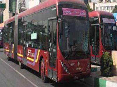 تصویر از سرویسدهی اتوبوسرانی اصفهان برای تشییع شهدا