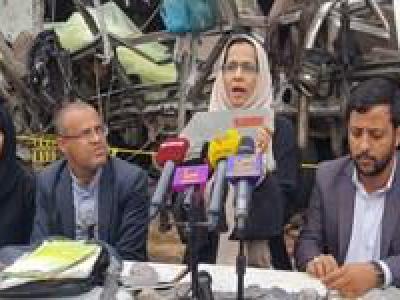 تصویر از وزیر یمنی: عربستان، کودکان، زنان و سالمندان یمنی را «اهداف نظامی» میبیند