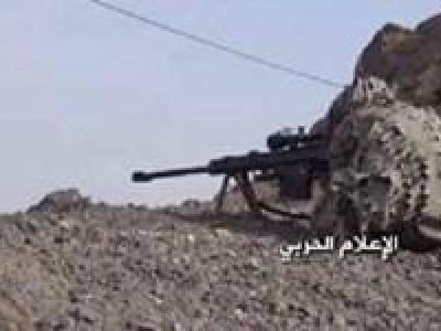 تصویر از کشته شدن ۵ نظامی سعودی و ۷۶ «مزدور» به دست تکتیراندازان یمن