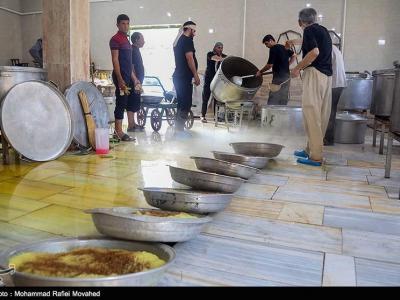 تصویر از طبخ بزرگترین غذای نذری جنوب استان خوزستان به مناسبت عید غدیرخم