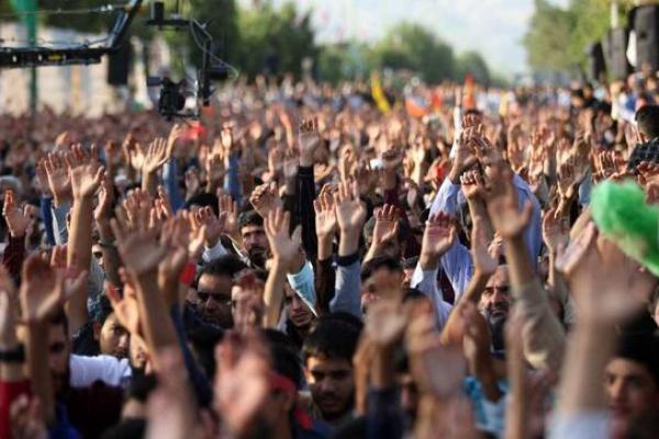 تصویر از اولین سالگرد شهید محسن حججی درنجف آباد برگزارشد