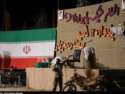 تصویر از یادواره ۱۲ شهید روستای دهزیار کرمان به روایت تصویر