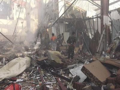 تصویر از یورش گسترده جنگندههای سعودی به «صعده» یمن