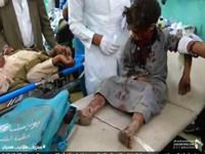 تصویر از آمریکا مسبب اصلی جنایات جنگی ائتلاف سعودی در یمن است