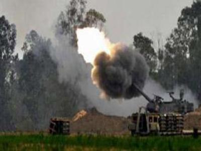 تصویر از شهادت کودک یمنی در حمله توپخانهای متجاوزان سعودی