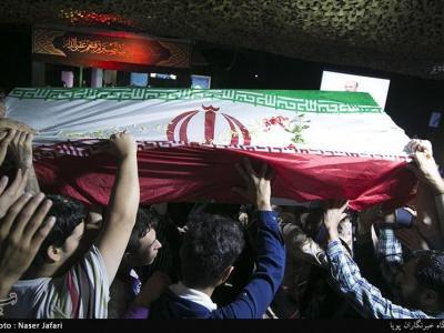 """تصویر از خوزستان آئین رونمایی از مزار شهید مدافع حرم """"سعادت خواه"""" برگزار میشود"""