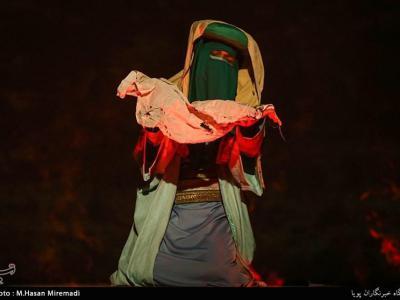 تصویر از نخستین تئاتر تلفیقی عاشورا و مدافعان حرم در مشهد روی صحنه میرود