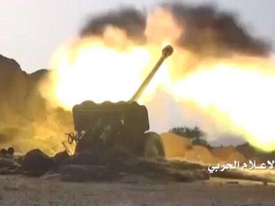 تصویر از کابوسی به نام توپخانه ارتش و کمیته های مردمی یمن