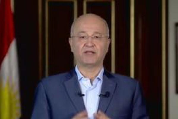 "تصویر از ""برهم صالح"" حامیان قدرتمند پیدا کرد"