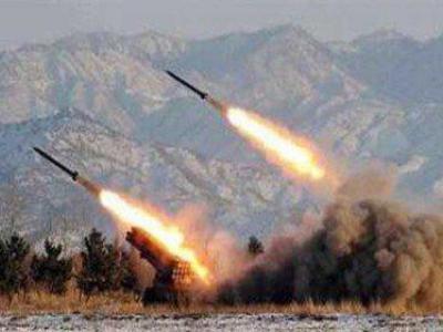 تصویر از شلیک موشکی و توپخانهای انصارالله به «نجران» و «جیزان» عربستان