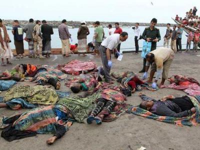 تصویر از کشته شدن هزار نفر در الحدیده یمن در مدت یک ماه