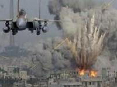 تصویر از حملات گسترده جنگندههای سعودی به نقاط مختلف «صعده» یمن