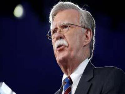 تصویر از حمایت بولتون از ائتلاف سعودی برای مقابله با ایران