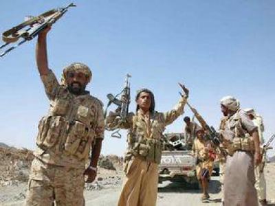 تصویر از هلاکت شماری از مزدوران سعودی در عملیات ارتش یمن