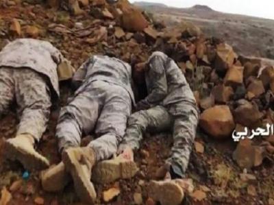 تصویر از یمن| ۱۳ نظامی سعودی در جیزان کشته شدند