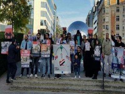 تصویر از ادامه تجاوز گری سعودی ها صدای فعالان سیاسی را در بروکسل درآورد