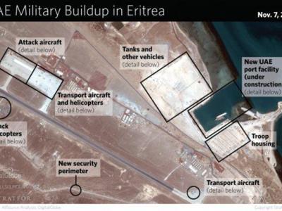تصویر از امارات در کدام کشور پایگاه نظامی دارد؟