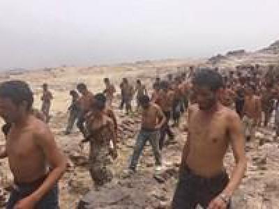 تصویر از عربستان هزاران مزدور منصور هادی را به باتلاق مرگ در مناطق مرزی فرستاد