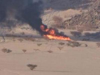 تصویر از فیلم/ شکار خودرو نظامی سعودی ها در یمن!