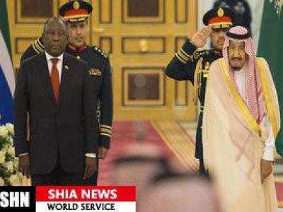 تصویر از آفریقای جنوبی شریک جرایم جنگی سعودی در یمن است