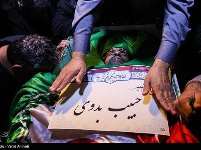 نخستین سالگرد شهادت شهید مدافع حرم حبیب بدوی در اهواز برگزار میشود
