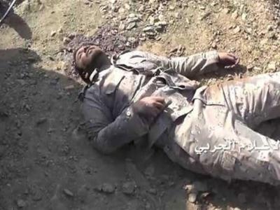 تصویر از رسانههای سعودی خبر دادند: کشته شدن ۴ نظامی سعودی در مرز یمن