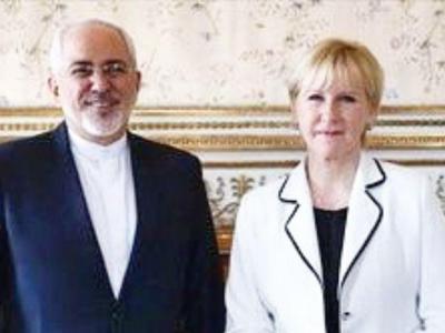 تصویر از گفتوگوی تلفنی ظریف و وزیر امورخارجه سوئد درباره دور جدید مذاکرات صلح یمن