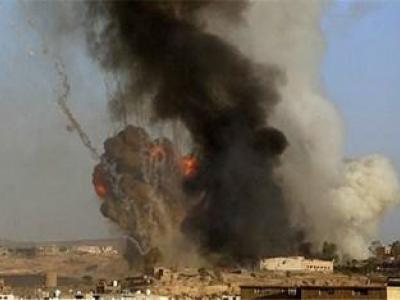 تصویر از شهادت یک شهروند یمنی در حدیده