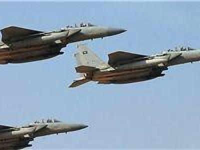 تصویر از ائتلاف سعودی ۶۰ سورت پروازی به الحدیده داشته است