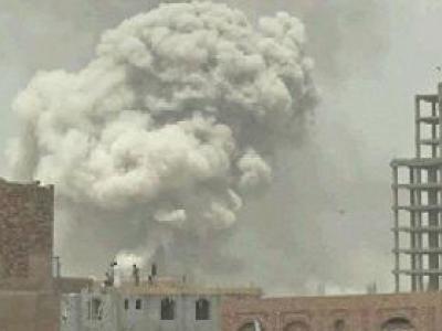 تصویر از ۱۳ شهید و زخمی در حملات ائتلاف متجاوز سعودی به یمن