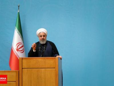 تصویر از واکنش گسترده رسانه های عربی به دفاع روحانی از مردم عربستان
