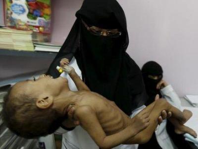 تصویر از صلیب سرخ: مرگ، گرسنگی و ویرانی بر زندگی یمنیها خیمه زده