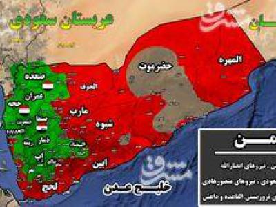 تصویر از تحولات میدانی یمن/ از شکار نیروهای مزدور سعودی در استان مآرب تا دفع حملات در استان الجوف + نقشه میدانی