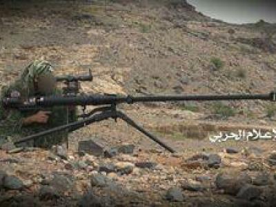 فیلم/ فرود راکت های یمنی بر سر مزدوران سعودی