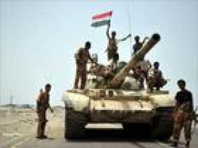 تصویر از کنترل انصارالله یمن بر پایگاه نظامی سعودی در جیزان