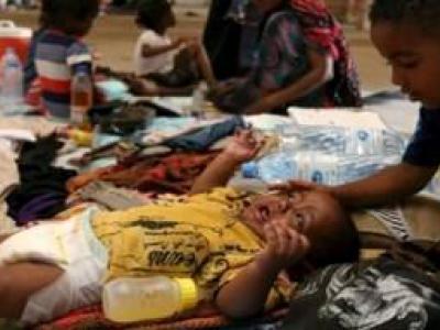 تصویر از گزارش شبکه روسیا الیوم از وضعیت کودکان یمنی