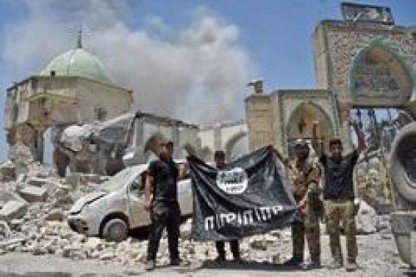 تصویر از شکست داعش یک ساله شد؛ جشن «یوم النصر» در عراق +تصاویر