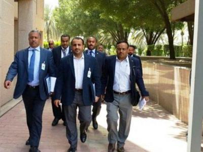تصویر از هیأت صنعاء برای شرکت در مذاکرات صلح وارد سوئد شد