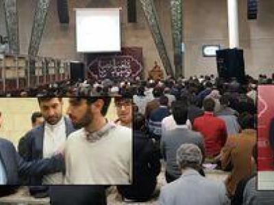 تصویر از برگزاری اجتماع بزرگ دانشگاهیان روزهدار در حمایت از مردم مظلوم یمن/ حضور وزیر خارجه در جمع دانشجویان
