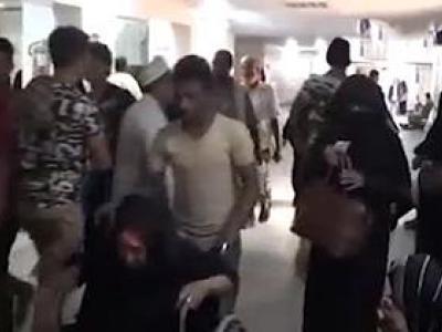 تصویر از وخیم شدن اوضاع تنها بیمارستان استان محاصره شده الحدیده + فیلم