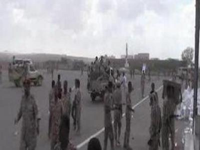 تصویر از حمله پهپادی رزمندگان یمنی به پایگاه العند در استان لحج + فیلم
