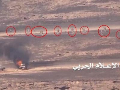 تصویر از یمن|دفع حملات مزدوران سعودی در عسیر و جیزان/ سعودیها ۶ بار صعده را بمباران کردند