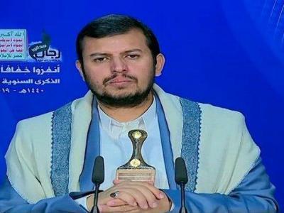 تصویر از رهبر انصارالله: توان نظامی یمن در حال رشد در همه سطوح است/آماده صلح هستیم