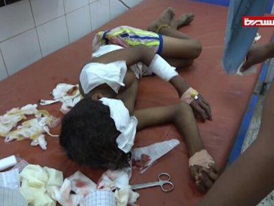 تصویر از هشت کشته و زخمی در حملات سعودیها به الحدیده یمن