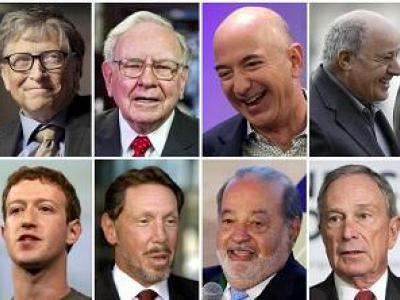 تصویر از ثروتمندان در سال ۲۰۱۸ چقدر ثروتمندتر شدند؟ +اینفوگرافیک
