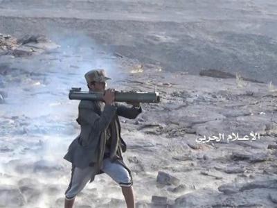 تصویر از نیروهای یمنی حملات گسترده ائتلاف متجاوز سعودی را دفع کردند