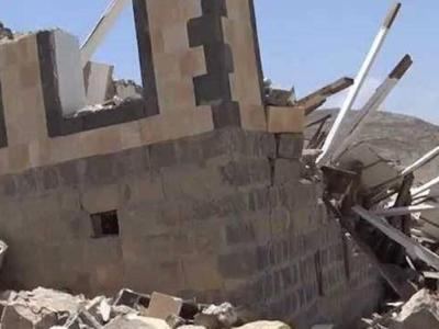 تصویر از کشته شدن چند زن یمنی در حمله جنگندههای ائتلاف سعودی
