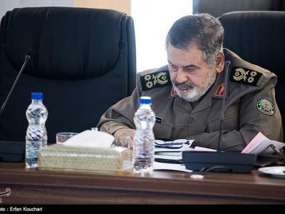 تصویر از سرلشکر فیروزآبادی: داعش بزرگترین توطئه دشمن بود / اگر اراده رهبری برای مقابله نبود داعش حتی به یزد هم میرسید