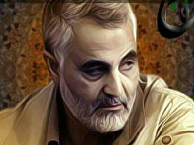 تصویر از هدیه با ارزش سردار «قاسم سلیمانی» به «آرین غلامی»