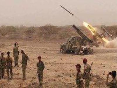 تصویر از تسلط ارتش یمن بر تعدادی از پایگاههای سعودی در «جیزان»